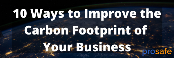 10 Ways to Improve the Carbon Footprint of Your Business