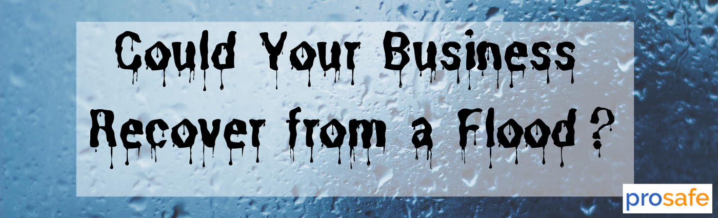 Could Your Business Recover from a Flood